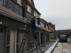 Deck-staining-new-home-development
