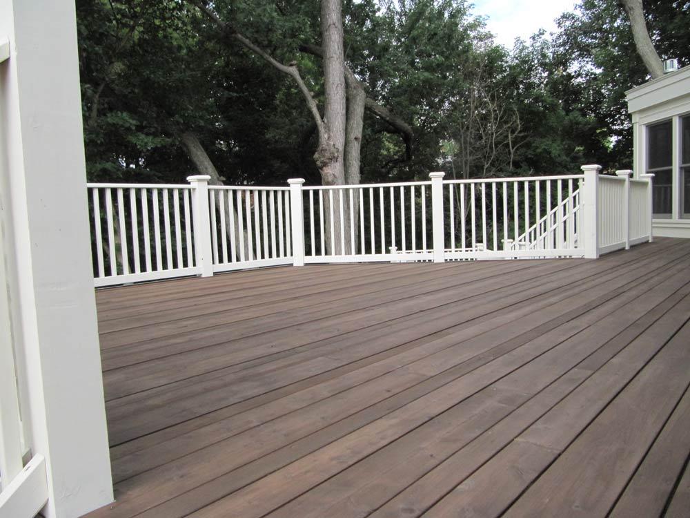 Wood sealtech for Garden decking colours